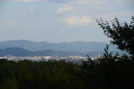 妙見宮前の眺望