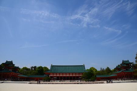 平安神宮の空