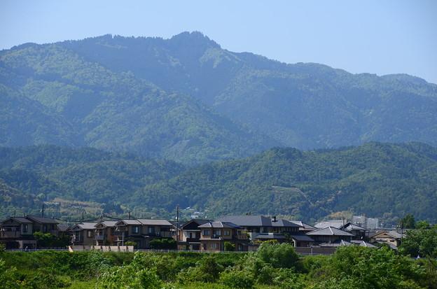愛宕山と鳥居形