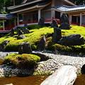 写真: 曲水の庭