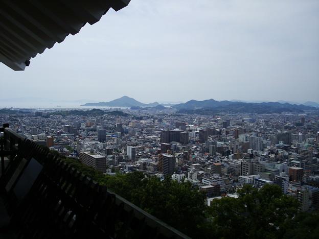 天守閣からの眺望