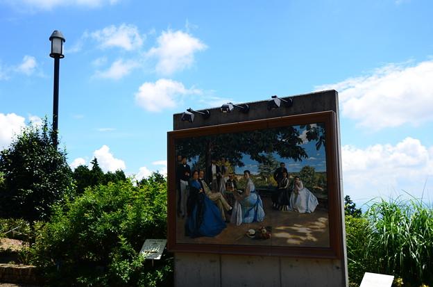 真夏のガーデンミュージアム比叡