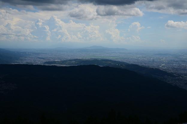 比叡山の向こう