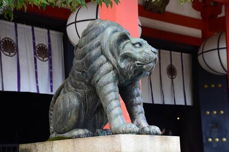 阿吽の狛虎