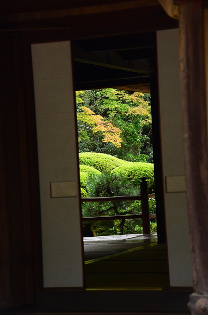 詩仙堂の風景