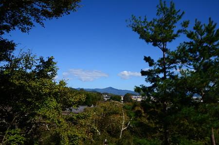 望京の丘からの比叡山