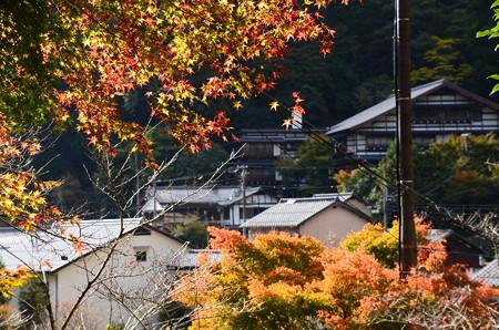 地蔵寺前の紅葉