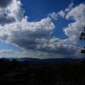 文殊塔前からの展望