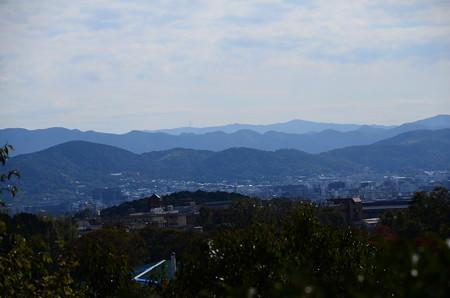 光悦寺からの眺望