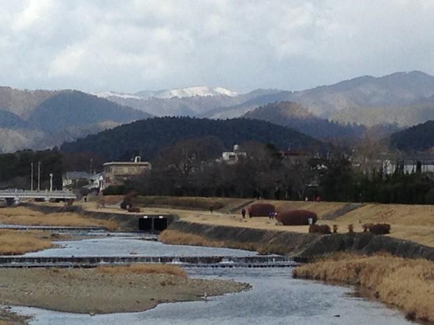 北山が真っ白~