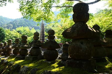 晩夏の化野念仏寺