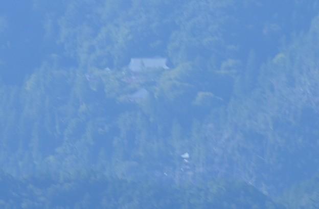 展望塔から見る鞍馬寺