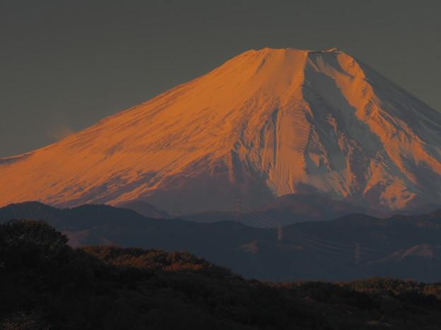 11月の紅富士(トリミング)