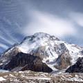 写真: 83.雲が流れるブロードピーク