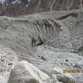 写真: 92.バルトロ氷河舌端
