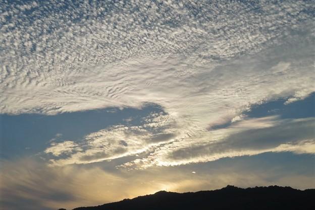 秋の雲(彩雲)_1216