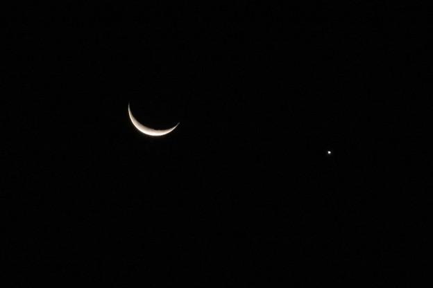 三日月&金星_4344