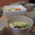 Photos: シチューにサラダにスープにごはん