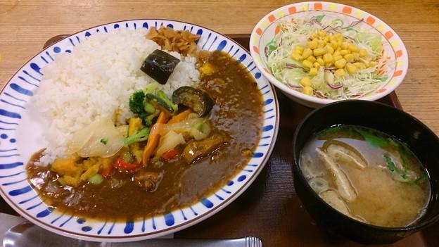 すき家野菜カレー