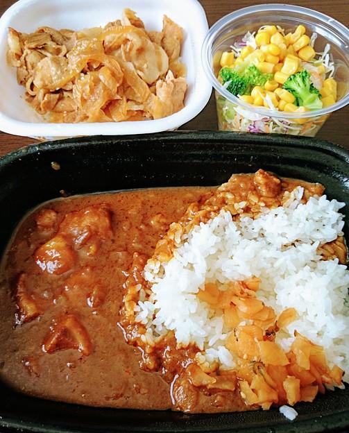 すき家ポークカレー豚丼
