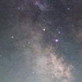 写真: 天の川中心部