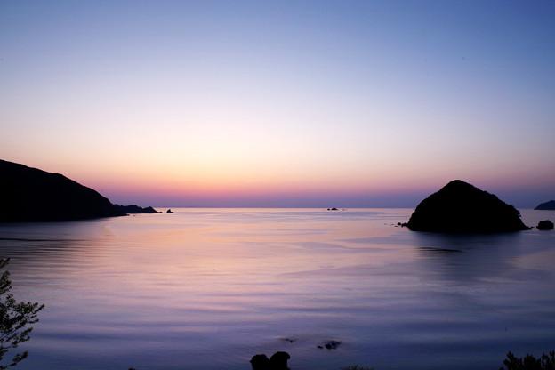 Photos: 日の入り後の若狭湾