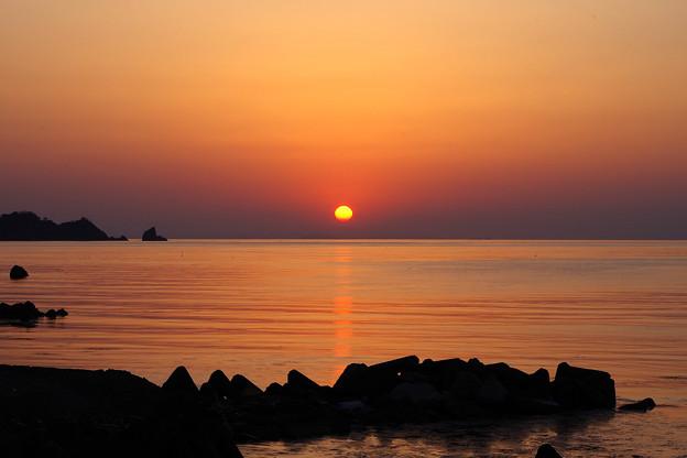 Photos: 若狭湾に沈む夕日