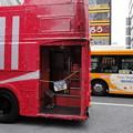 Photos: 日英「バス」共演