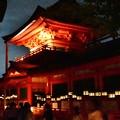 写真: 夏の夜の春日大社