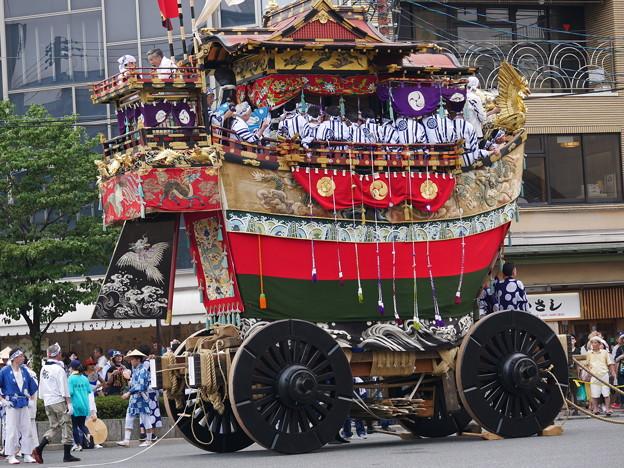 船鉾 斜め後ろ 祇園祭2018