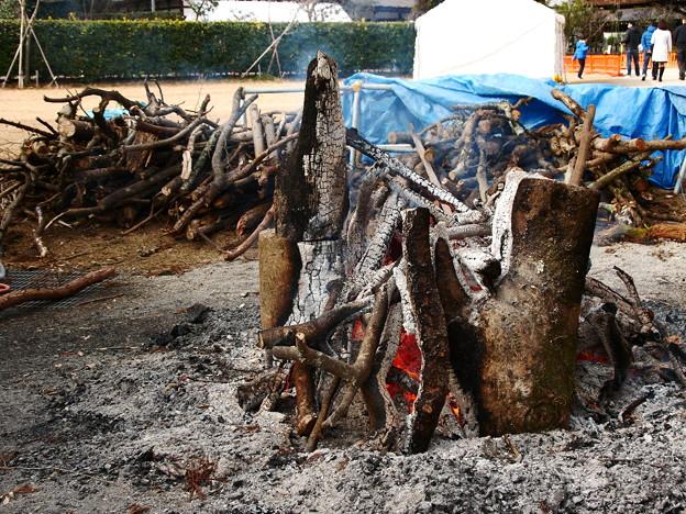 焚き火 上賀茂神社