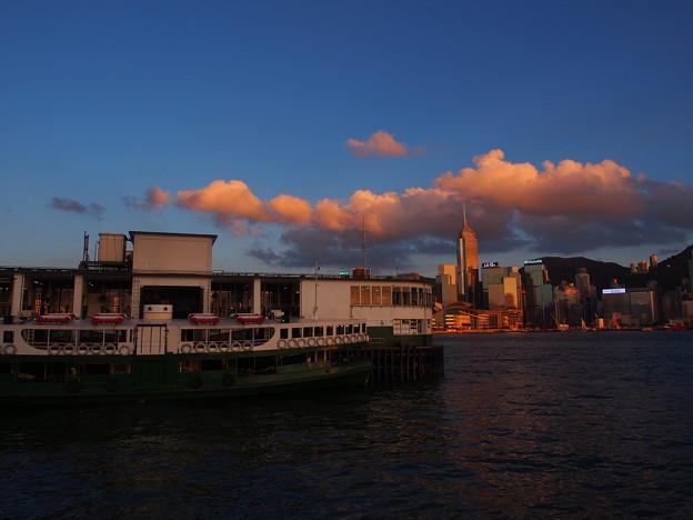 Ferry at Victoria harbor