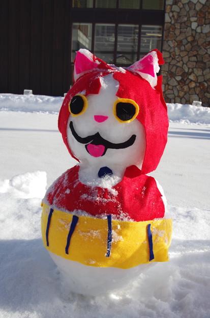 Photos: 雪だるま キャラクター 3