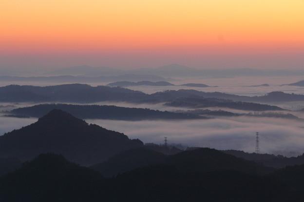夜明け前 ~弥高の雲海~