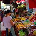 写真: 果物市場