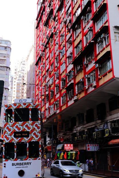 街中の集合住宅