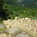 写真: 崖