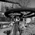 Photos: さび付いた工作機械