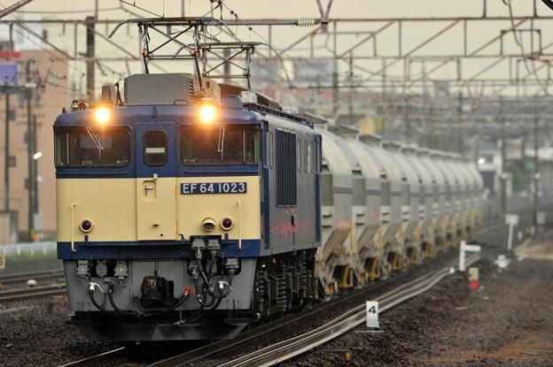 EF64-1023  5767レ 東海道本線 共和駅