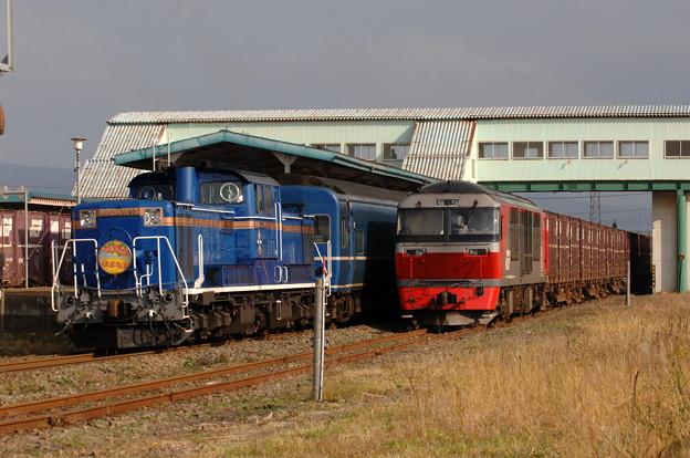 DD51-1148 はまなす 室蘭本線 長万部駅