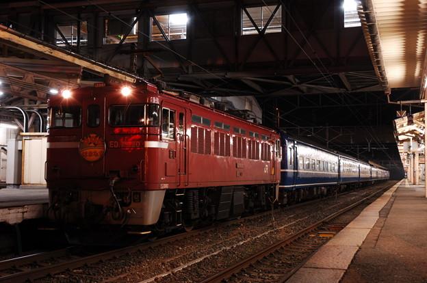 ED79-20 寝台急行「はまなす」 青森駅