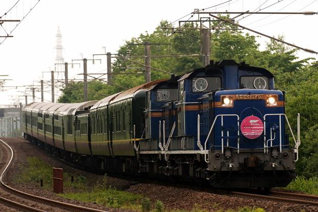 DD51-1142 トワイライトエクスプレス 千歳線
