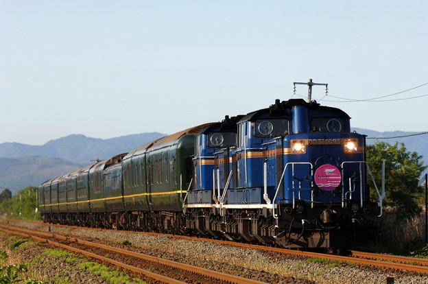 DD51-1095 トワイライトエクスプレス 室蘭本線