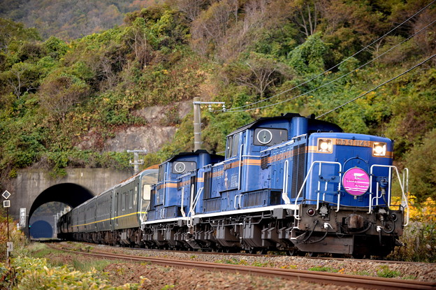 DD51-1143 トワイライトエクスプレス 室蘭本線