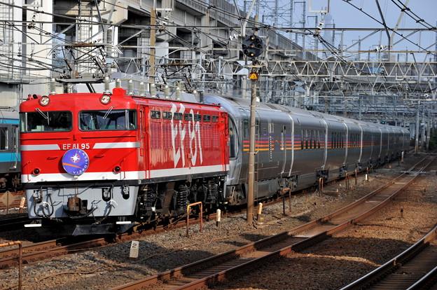 EF81-95 カシオペアクルーズ 東北本線 東十条駅付近