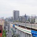 東京メトロ60000系電車とスカイツリー