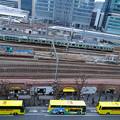 はとバスと新幹線と東海道線