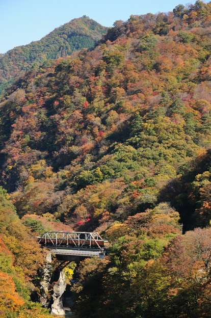 岩島~川原湯温泉(旧線)