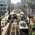写真: 荒川線 町屋駅前