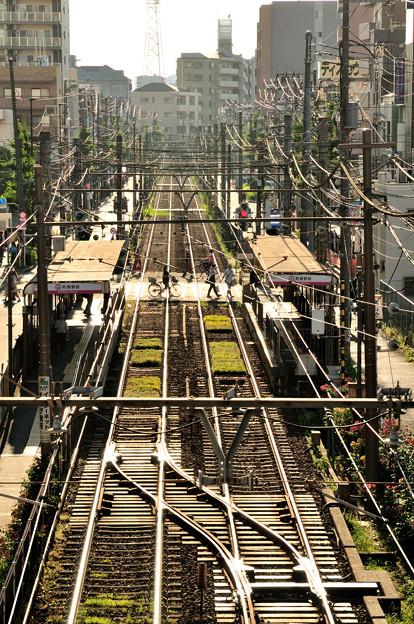 Photos: 荒川線 町屋駅前